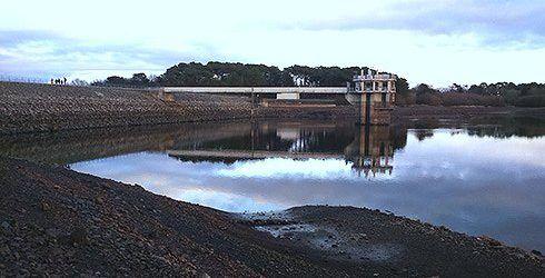 Le barrage de la Chèze